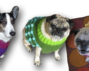 Size S Custom Dog Sweater Vest - Made to Order for you