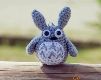 Amigurumi Totoro : Items similar to amigurumi totoro crochet totoro handmade