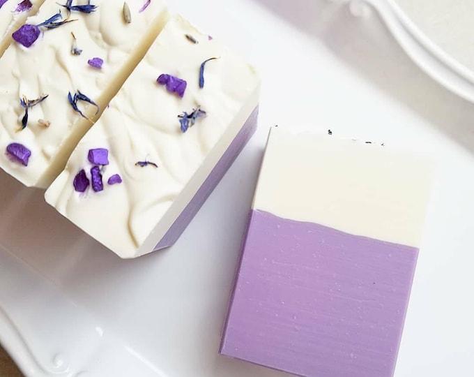 Lavender Buttermilk & Shea Silk Soap