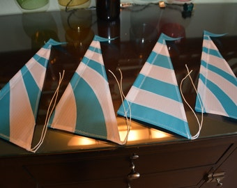 Aqua Stripes (4) Sails