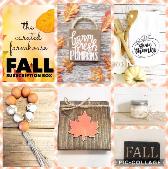 Fall Farmhouse Subscription Box