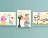 Nursery print, Baby girl ...
