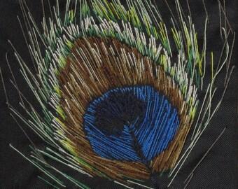 Peacock Feather Artwork