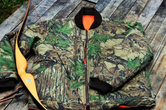 Hunting Jacket, reversible Redhead camoflouage/blaze orange jacket