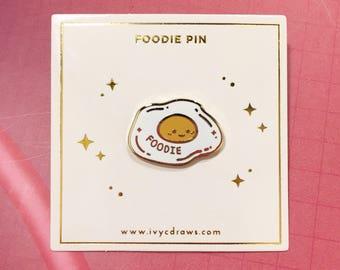 Foodie Enamel Pin