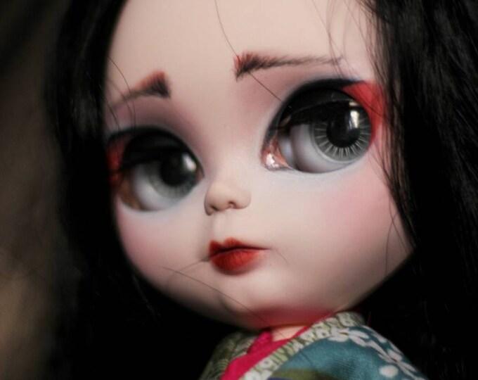 Madame Butterfly. OOAK Custom Blythe doll.