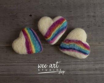 Tiny Rainbow Heart