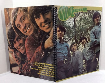 The Monkees Album Cover Notebook Handmade Spiral Journal