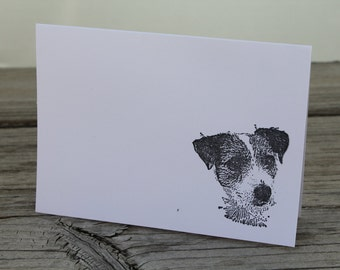 Set Of 10 Jack Russell Terrier Cards