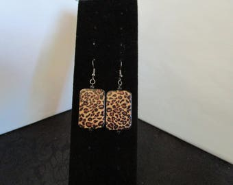 Tiger Colored Earrings