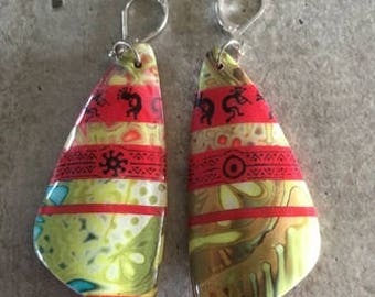 polymer clay ear rings - new collection