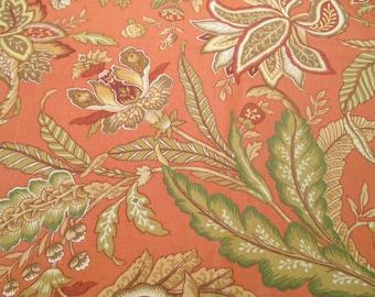 Floral Home Decor Fabric - 1 yard