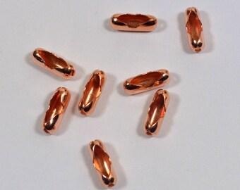 3,2 mm boule chaine connecteurs - 100 % de cuivre