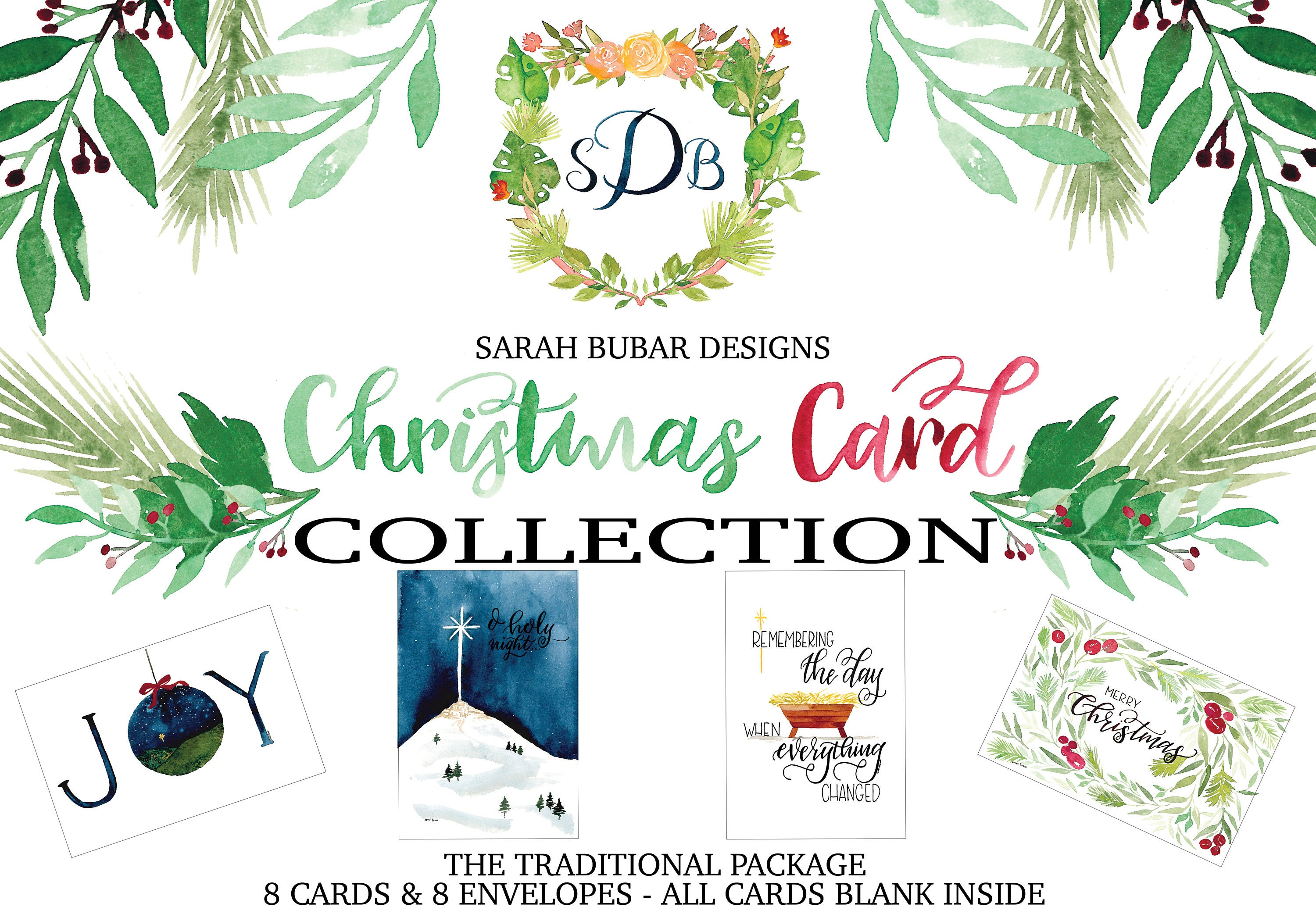 Christmas card collection the traditional package kristyandbryce Choice Image