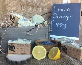 Citrus Poppy Soap
