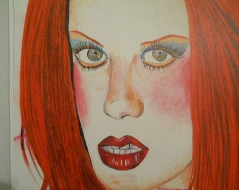Shirley Manson (from band Garbage)