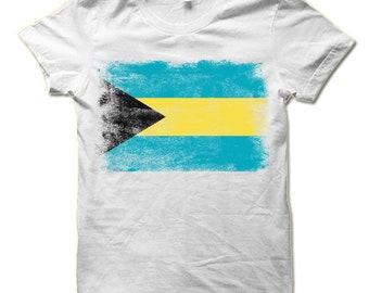 Flag of Bahamas T Shirt | Bahamian Flag Shirt