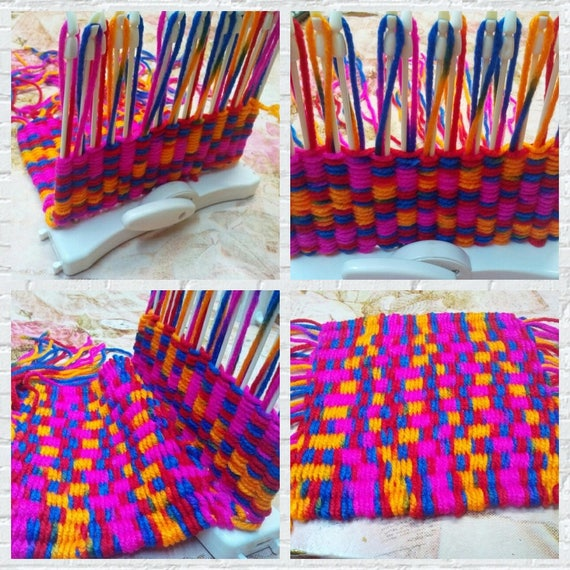 Scarf Knitting Machine Knitting Loom Knit Hobby Tool Kits With