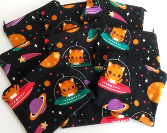 Space Cats Zipper Pouch - Coin Purse