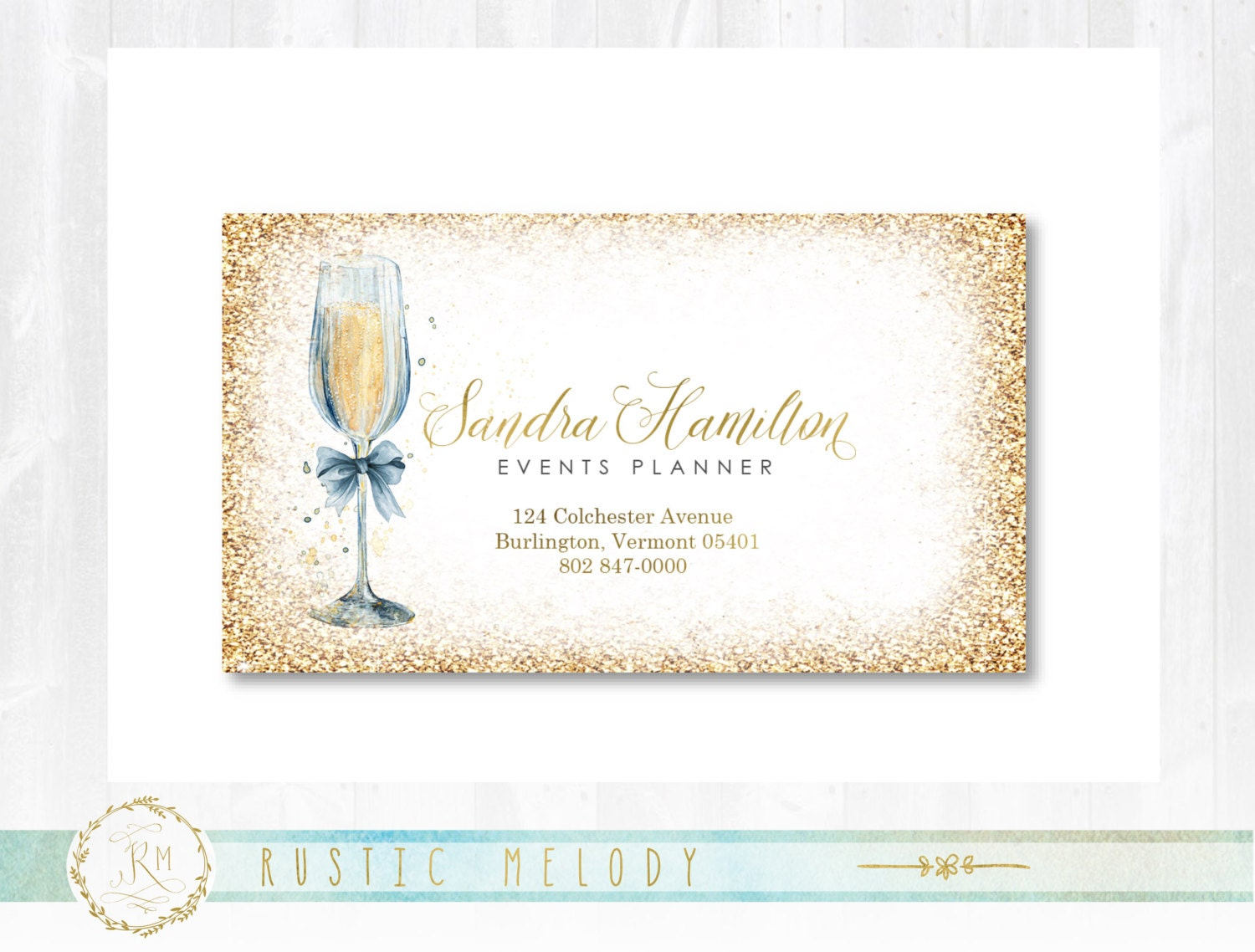 Premade Party Planner Business Card , Photography Business Card ...