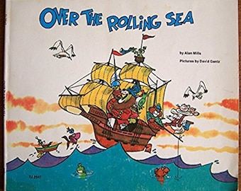 Over the Rolling Sea by Alan Mills - Children's Book - Stories That Rhyme