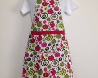 Girls Apron, Apron, Kids Apron, Childs Apron, Childrens Apron, Size 10 to 16, Free Shipping AUST