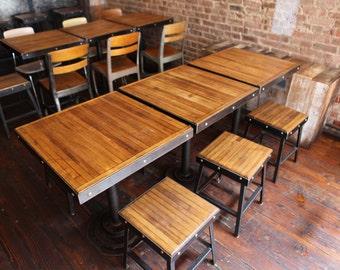Restaurant Chairs, Short Stools, Reclaimed Furniture, Restaurant Furniture,  Restaurant