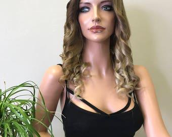 Blonde Full Lace Wig - Mariah