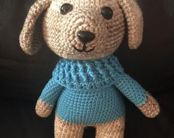 Crochet dog toy