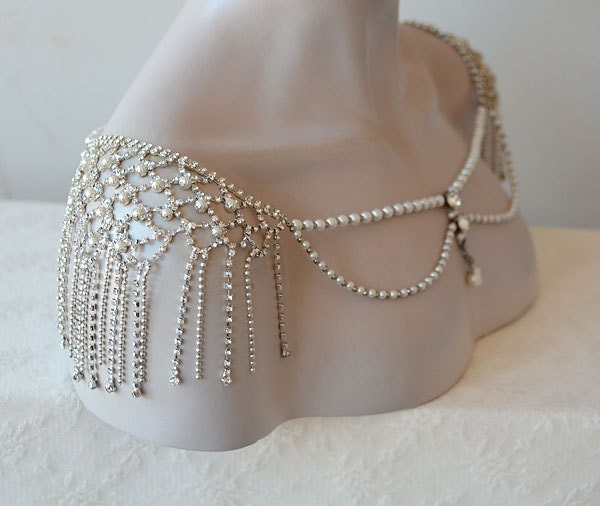 EXPRESS SHIPPING Wedding Shoulder Jewelry Bridal Shoulder