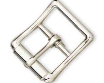 """All Purpose Strap Buckle Nickel 3/4"""" 1539-00 by Tandy Leather"""