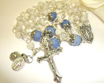 Catholic rosary, First communion rosary, Baptism Rosary, Miraculous rosary, Abundant Grace Rosaries***