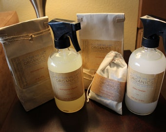 Natural House Cleaning Bundle w/ FREE Soap Nuts