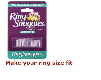 Ring Snuggies Ring Sizer / Sizes Adjuster - a pack of 6 assorted size