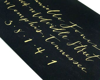 Envelope Addressing -- Customized calligraphy for your wedding and other events