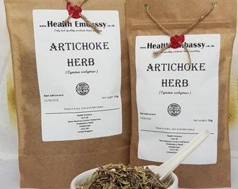 Artichoke Herb / Cynara scolymus L. / Health Embassy / Organic