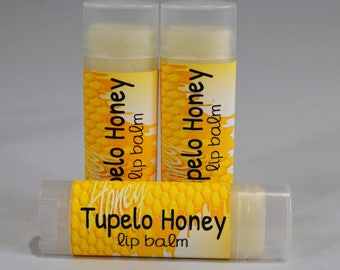 Tupelo Honey - Sweetened Lip Balm - Flavored Lip Butter - Natural Lip Balm - Handmade