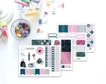 Midnight Magic Planner Sticker Kit