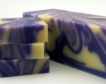 This is a beautiful lavender soap rich and creamy 7 oz