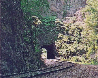 NATURAL TUNNEL State Park - Clinchport, Virginia- Post Card (Used)