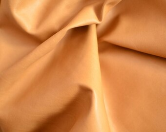 Brown Natural Leather Italy,Thickness: 0.6 mm Height 60 cm Width 65 cm,b1020