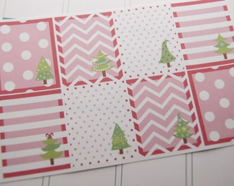 Christmas Stickers Full Box Planner Stickers PS186 Fits Erin Condren Planners