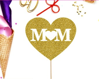 Mom Cake Topper, Mother's Day, Cake Topper, Mother's Day Cake, Mothers Day, Happy Mother's Day, Happy Mothers Day, Gift For Mom