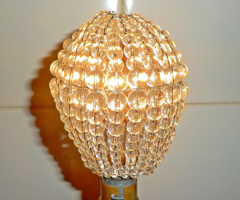 Beaded Chandelier Bulb Covers. beaded light bulb covers light bulb ...