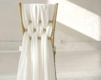 Weaved Romantic Chiffon Sash Sets