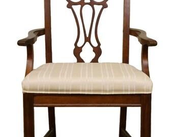 bernhardt furniture logo. BERNHARDT FURNITURE Chippendale Style Dining Arm Chair 238-555/556 Bernhardt Furniture Logo