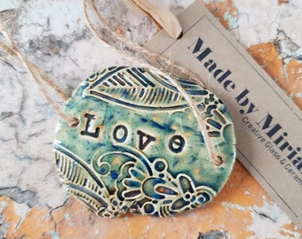 Ceramic 'Love' Token