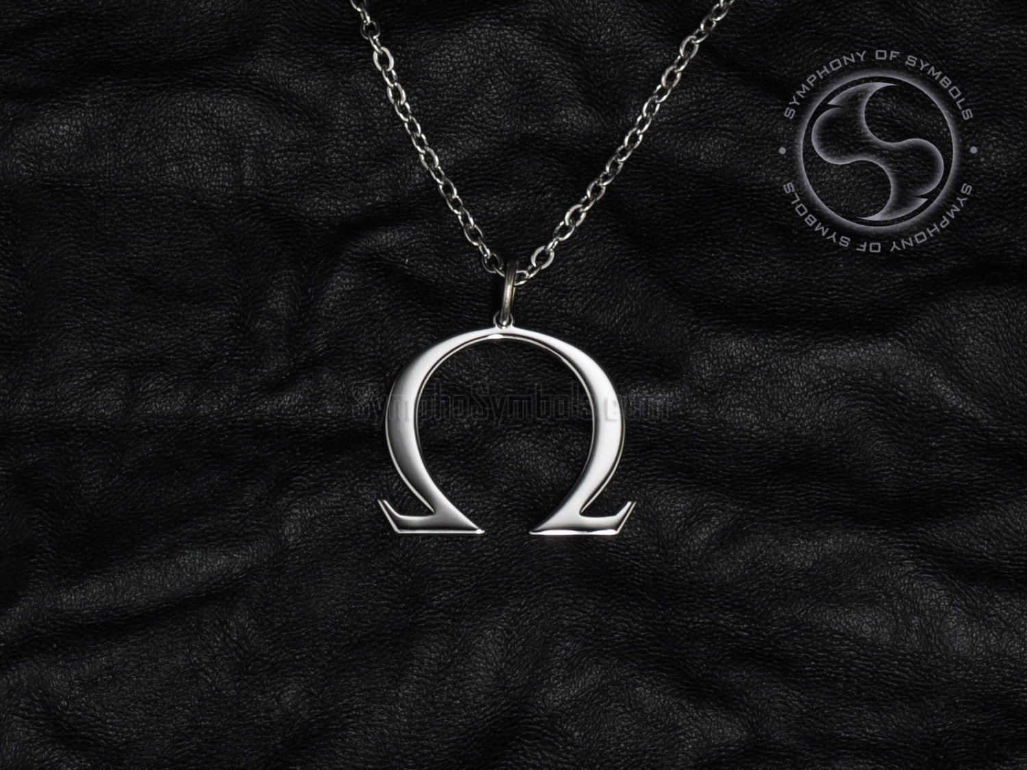 Omega pendant greek symbol stainless steel jewelry capital zoom biocorpaavc