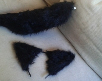 Wolf Ear and Tail Set
