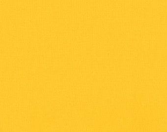 Duckling Yellow Kona Cotton from Robert Kaufman Fabrics - K001-840